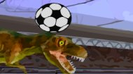 Dinosaur Football Game